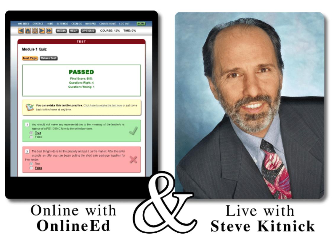 Steven Kitnick Seminars & Online Ed